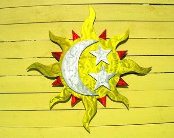 Sun Metal Art, Sun Art, Outdoor Metal Wall Art, Metal Wall Art, Large Outdoor Metal Wall Art, Outdoor Metal Art, Outdoor Artwork