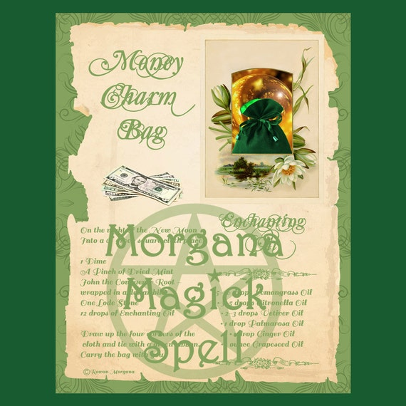 Money Charm Bag Spell