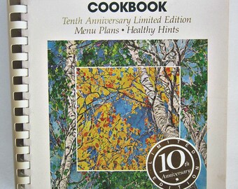 COLORADO CACHE COOKBOOK, 10th Anniversary edition - Junior League of Denver - 1988, 1st Printing of 3rd Edition (Anniversary)