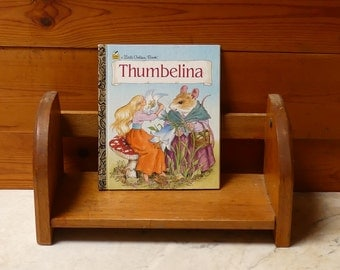 "Vintage 1990's Little Golden Book Hans Christian Anderson's ""Thumbelina"""