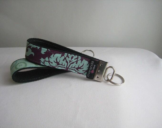Keychain Fob - Key Fob - Custom Made to Order- Wrist - Hands Free Wristlet Keychain