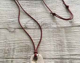 Holey Stone, Hag Stone Necklace
