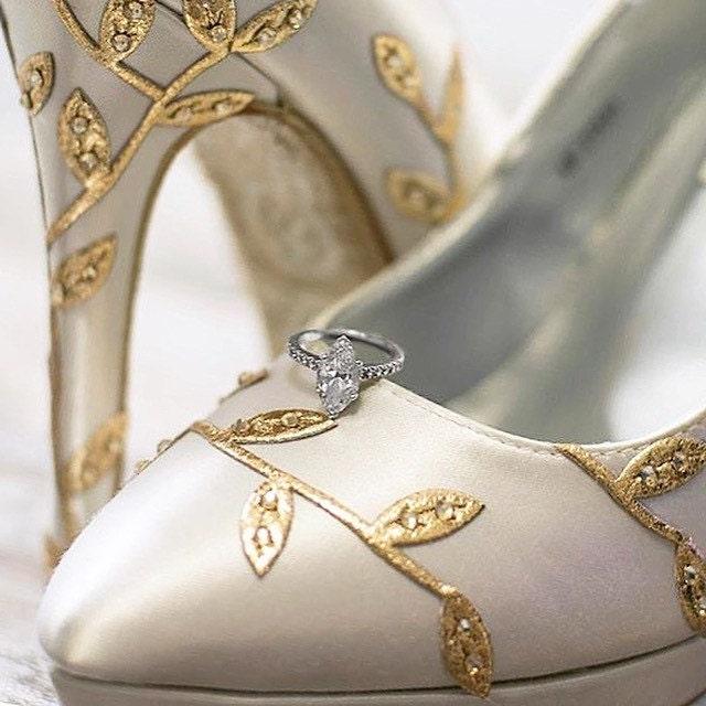 CUSTOM CONSULTATION Wedding Shoes Bridal Heels Ivory