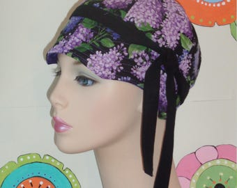 Cancer Caps Womens Chemo Cap Lilac (For Size Guide, see 'Item Details' under Photos.) MEDIUM