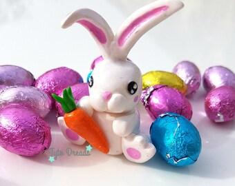 Cute Kawaii Bunny Rabbit Figurine