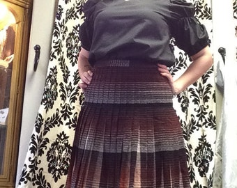 Fabulous 1940's Pleated Skirt