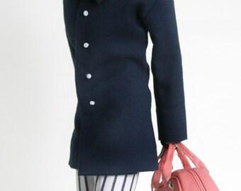 Fashion Royalty Navy Blue JP Jacket & Pants