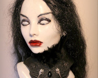 Womans Gothic Vampire Collar