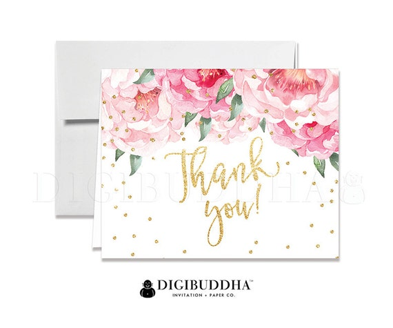 wedding shower thank you note