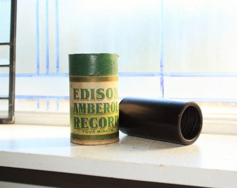 Antique Edison Cylinder Record 443 Foxy Kid Phonograph Record