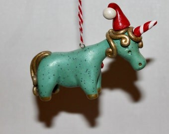Enchanted Unicorn Ornament READY TO SHIP