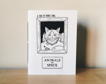 Animals in Space: An Illustrated Zine