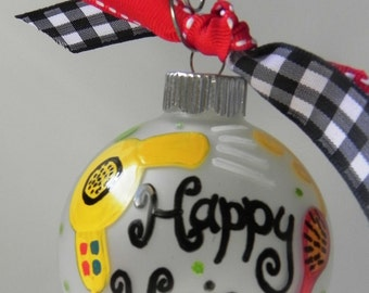 Hair Stylist Ornament - Beautician Ornament - Custom Ornament