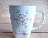 Snowflake Avalanche Mug, Liberal Progressive Activism, 14 oz Activist Coffee Mug, Inspirational, Womens March, Resist, Insult, Ready to Ship