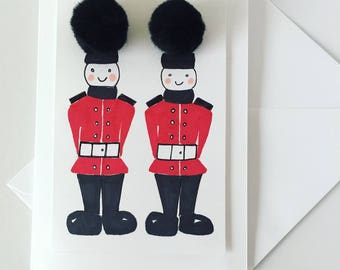 Toy Soldiers Card