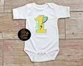 Places You'll Go Birthday Embroidered Applique Shirt or Bodysuit