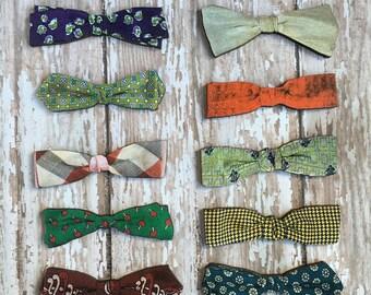 Bowtie Brooch Vintage Tie Pin