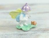 Vintage Fairy Porcelain Figurine w/ luster glaze by Napco