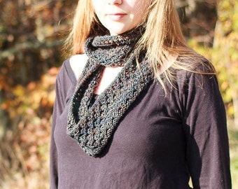 Knitting Pattern, Appalachia Lace Cowl