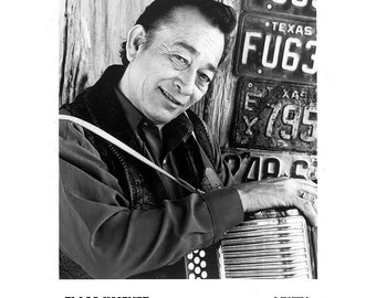 Flaco Jimenez Publicity Photo 8 by 10 Inches