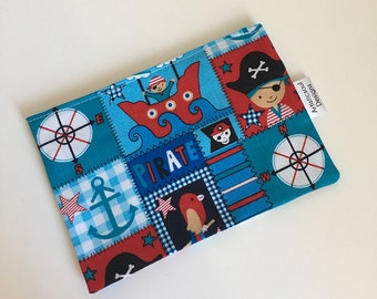 Reusable Snack & Sandwich Bag -- Jolly Pirates Eco-Friendly