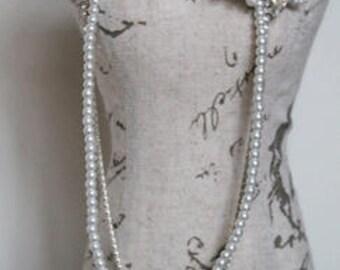 Hair chain headpiece - Bridal head chain  - 1920s Headdress  - Bridal hair accessories  - Forehead band - Hair chain -Downton Abbey.