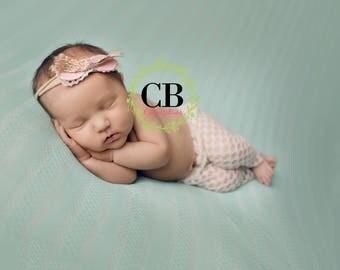 newborn bow, baby girl bow, baby headband, tieback, pink bow, neutral bow, infant headband, newborn photo prop, burlap bow, baby gift, bow