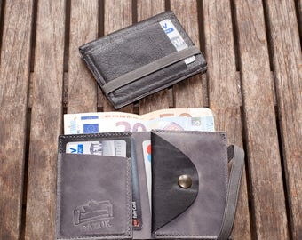 Wallet Mens, Small Wallet, Men, Wallet, Gift for Him, Leather Wallet, Mens Wallet