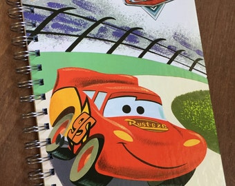 Just the Covers // Cars Little Golden Book Recycled Notebook