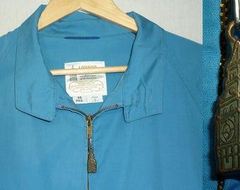 1970s Jacket / L / 44 - 46 / London Fog Jacket / 1970s Windbreaker / Golf Jacket / Windcheater / Vintage 1970s Mens Clothing / 1980s Jacket