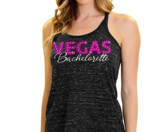 Vegas Bachelorette Flowy Bachelorette Party Top - Bachelorette Party in Las Vegas Tank Tops, Wild Bachelorette Party Vegas, Bridesmaid Tee