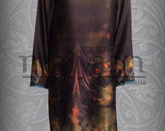 Sale-Malyaan original digital silk kurti, tunic, tops and tees, FREE SHIPPING