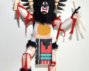 NEW * Lower Price * Kachina Doll, Owl Kachina Doll, Dancing Owl Kachina Doll, Kachina Doll Made in America, Navajo Owl Kachina Doll on Sale