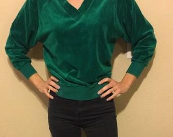 Vintage Velour Pullover
