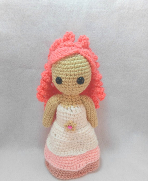 Tutorial Rose Amigurumi : Amigurumi Rose Qaurtz Crochet Doll