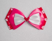 READY TO SHIP Valentine's Day Bow - Cupid