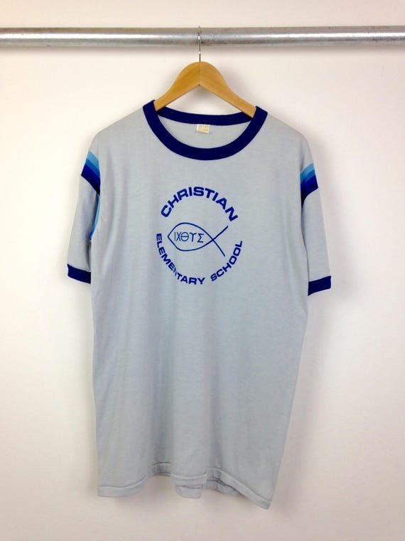 Vintage Christian Elementary School Men's Tee
