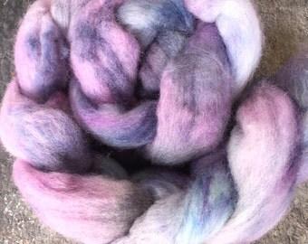 Pure Australian wool roving, hand dyed wool roving, hand dyed top, spinning wool, hand dyed spinning wool, 100% wool roving, felting, fibre
