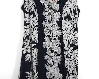 Authentic Vintage Hawaiian Sun Dress // Size M