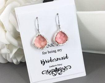 Clearance, Coral Earrings, Jewelry, Bridesmaid Earrings, Bridesmaid Gift, Drop Earrings, Coral Jewelry, Coral Wedding, Gift for Her