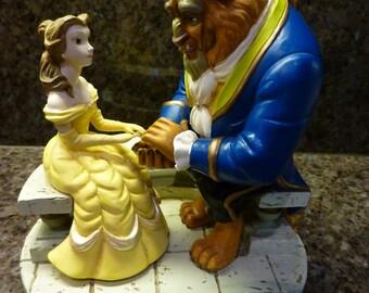 Beauty and the Beast Balcony Figurine Disney Theme Park Exclusive
