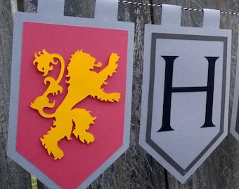 Happy Name Day Game of Thrones Inspired Banner
