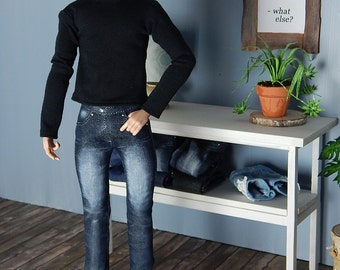 Stonewashed Jeans for Fashion Royalty Hommes, Ken and male fashion dolls