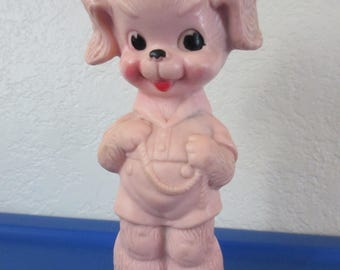 Vintage Ruth E. Newton Sun Rubber Company Squeaky  Sailor Dog Doll Toy **Epsteam