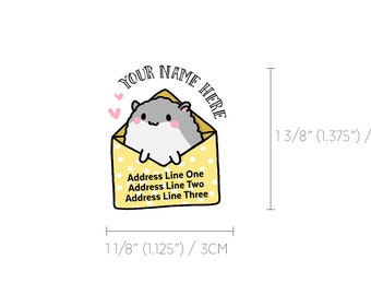 Hamster Sticker Etsy