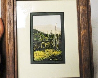 """William T Zivic Signed Lot of 2 Wooden Framed Portraits """"Open Range"""" and """"Cholly Flats"""" Collectible Vintage Home Decor"""