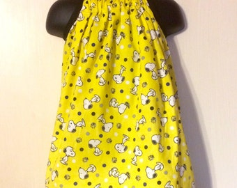 Dancing Snoopy Sundress (Multiple Sizes Available)