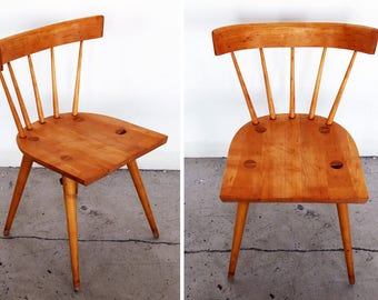 MCM Paul McCobb Original Spindle Back Chair winchendon Planner group Mid Century Modern Vintage American USA Danish Style Scandinavian