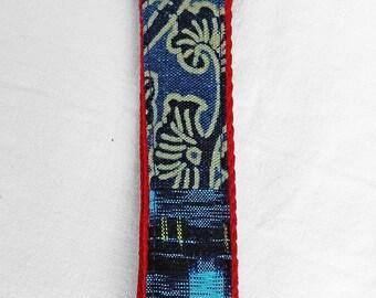 Kasuri key wristlet/holder