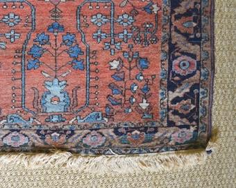 Vintage Persian Sarouk Rug 3 x 5